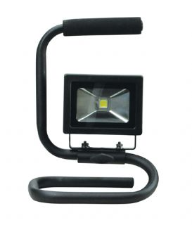 10W Portable LED Flood Light with floor mounting bracket